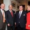 GLEN JOHNSON: Burns Hargis, Ed Barth, Glen D. Johnson, Melinda Johnson.	PHOTO BY DAVID FAYTINGER, FOR THE OKLAHOMAN