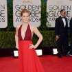 Amy Adams arrives at the 71st annual Golden Globe Awards at the Beverly Hilton Hotel on Sunday, Jan. 12, 2014, in Beverly Hills, Calif. (Photo by John Shearer/Invision/AP)