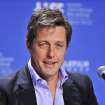 FILE - In this Sept. 9, 2012 file photo, actor Hugh Grant speaks during the news conference for the film