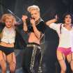 FILE - This March 22, 2013 file photo shows singer Pink performing during her