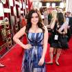 Ariel Winter arrives at the 20th annual Screen Actors Guild Awards at the Shrine Auditorium on Saturday, Jan. 18, 2014, in Los Angeles. (Photo by Matt Sayles/Invision/AP)