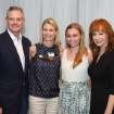 Everett, Jeanetta, and Haley Dobson, Reba McEntire were at the reception (Photo by David Faytinger).