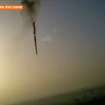 In this image taken from amateur video provided by Al-Jazeera, a hot air balloon over Luxor, Egypt plummets about 1,000 feet to earth on Tuesday, Feb. 26, 2013. Nineteen people were killed in what appeared to be the deadliest hot air ballooning accident on record. A British tourist and the Egyptian pilot, who was badly burned, were the sole survivors. (AP Photo/Al-Jazeera) MANDATORY CREDIT: AL-JAZEERA