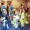 Students are shown dancing at last year's Eagles in Flight Powwow. This year's powwow is Saturday at John Marshall High School, 12201 N Portland.Photo Provided