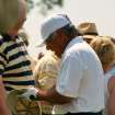 Lee Trevino taking time to sign an autograph. 2006 Senior PGA Championship.  Community Photo By:  Rob Ferguson  Submitted By:  Rob, Edmond