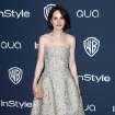 Michelle Dockery arrives at the 15th annual InStyle and Warner Bros. Golden Globes after party at the Beverly Hilton Hotel on Sunday, Jan. 12, 2014, in Beverly Hills, Calif. (Photo by Matt Sayles/Invision/AP)
