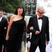 Actress Anjelica Huston arrives at the New York City Ballet Fall Gala honoring fashion designer Valentino Garavani at Lincoln Center on Thursday, Sept. 20, 2012 in New York. For this one night only Valentino will create costumes for three ballets. (Photo by Evan Agostini/Invision/AP Images)