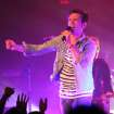 In this March 1, 2012 photo, fun. lead singer Nate Ruess performs at Lupo's Heartbreak Hotel in Providence, R.I. Their single
