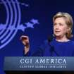 Former Secretary of State Hillary Rodham Clinton speaks at the annual gathering of the Clinton Global Initiative America Tuesday, June 24, 2014, at the Sheraton Downtown in Denver, (AP Photo/Brennan Linsley)