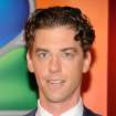FILE - In this Monday, May 14, 2012 file photo, actor Christian Borle arrives for the NBC network upfront presentation at Radio City Music Hall, in New York. Borle will be leaving