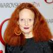 This June 4, 2012 photo released by Starpix shows Vogue stylist and former model Grace Coddington at the 2012 CFDA Fashion Awards, sponsored by Swarovski, at  Alice Tully Hall in New York. Coddington is the author of a book titled,