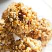 Popcorn is a centuries-old simple food that has gone gourmet. Chef Joe Truex of Atlanta makes Glady's Popcorn Balls which are bacon-studded. (Renne Brock/Atlanta Journal-Constitution/MCT)
