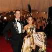 Hamish Bowles and Sarah Jessica Parker attend The Metropolitan Museum of Art's Costume Institute benefit celebrating