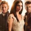 "From left, Toby Regbo, Adelaide Kane and Torrance Coombs star in ""Reign."" - Photo: Mathieu Young/The CW -- © 2013 The CW Network, LLC. All rights reserved."