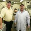 AL CUSACK: Al and Donnie Cusack pose for a photo at Cusack Meats in Oklahoma City, Oklahoma October 28, 2009. Photo by Steve Gooch, The Oklahoman ORG XMIT: KOD