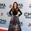 Jana Kramer arrives at the 47th annual CMA Awards at Bridgestone Arena on Wednesday, Nov. 6, 2013, in Nashville, Tenn. (Photo by Evan Agostini/Invision/AP)