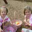 Rylee & Raegan Reece at the Oaktree Park Homeowner's Easter Egg Hunt on 3/22/08  Community Photo By:  pia allen  Submitted By:  michael, edmond