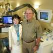 Mary and Joe Pointer pose for a photo at the Oklahoma Blood Institute in Oklahoma City, Okla. June 4 , 2008.  BY STEVE GOOCH, THE  OKLAHOMAN