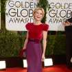 Julie Bowen arrives at the 71st annual Golden Globe Awards at the Beverly Hilton Hotel on Sunday, Jan. 12, 2014, in Beverly Hills, Calif. (Photo by Jordan Strauss/Invision/AP)