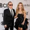 Tommy Mottola, left, and Thalia arrive at the 68th annual Tony Awards at Radio City Music Hall on Sunday, June 8, 2014, in New York. (Photo by Charles Sykes/Invision/AP)