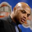 In this Sept. 8, 2006 photo, as a member of the class of 2006 former NBA player Charles Barkley addresses members of the media during a news conference at the Naismith Memorial Basketball Hall of Fame in Springfield, Mass.    Barkley says Tiger Woods changed his cell phone number the day after his car accident is not talking to some of his famous friends.  On a show that airs Sunday on news network HLN, Barkley and filmmaker Spike Lee worry that Woods isn't taking advantage of the invaluable advice his friends who are used to the spotlight can offer.  (AP Photo/Stephan Savoia)