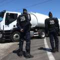 French police force open fuel depot amid...