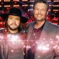 Video: Adam Wakefield duets with coach Blake...