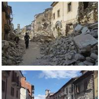 Aftershocks continue  as death toll goes up