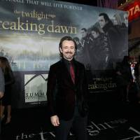 "Photo - Michael Sheen attends the world premiere of ""The Twilight Saga: Breaking Dawn Part II"" on Nov. 12 at the Nokia Theatre in Los Angeles.  Photo by Matt Sayles, Invision/AP"