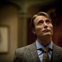 Photo - This publicity image released by NBC shows Mads Mikkelsen as Dr. Hannibal Lecter in a scene from the TV series,