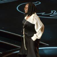 Photo - Whoopi Goldberg speaks during the Oscars at the Dolby Theatre on Sunday, March 2, 2014, in Los Angeles.  (Photo by John Shearer/Invision/AP)
