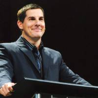 Photo - Craig Groeschel, founding pastor of Edmond-based LifeChurch.tv, preaches a message. Photo provided