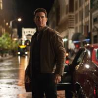 Photo - FILE - This publicity film image released by Paramount Pictures shows Tom Cruise in a scene from