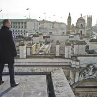 "Photo - Daniel Craig stars as James Bond in ""Skyfall"" and is pictured here from the rooftops of London.  PHOTO PROVIDED BY MGM/COLUMBIA PICTURES"