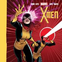 Photo - Jean Grey and Cyclops from the past are featured on the cover of