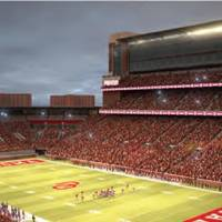 Photo - Artists rendering of the proposed upgraded to OU's Gaylord Family-Memorial Stadium. PHOTO PROVIDED