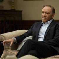 Photo - This image released by Netflix shows Kevin Spacey in a scene from the Netflix original series,