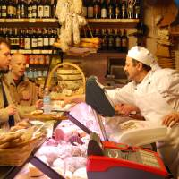 Photo -  The atmospheric delis in Siena's old town make a fun stop.  (photo: Rick Steves)