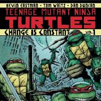 "Photo - The cover to IDW's ""Teenage Mutant Ninja  Turtles"" Volume 1, ""Change is Constant."""