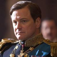 Photo - In this film publicity image released by The Weinstein Company, Colin Firth portrays King George VI in