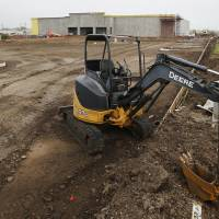 Photo - Future home of Hemishpheres furniture store in Moore , Friday May 17, 2013. Photo By Steve Gooch, The Oklahoman  Steve Gooch