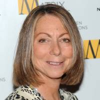 Photo - FILE - This April 19, 2010 file photo shows then New York Times Managing Editor Jill Abramson at the 2010 Matrix Awards in New York. Abramson is speaking to the class of 2014 at Wake Forest University in Winston-Salem, N.C. on Monday, May 19, 2014, her first public appearance since her dismissal from The New York Times. (AP Photo/Evan Agostini, File)