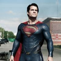 Photo - This film publicity image released by Warner Bros. Pictures shows Henry Cavill as Superman in