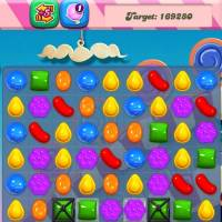 Photo - This undated screenshot shows Candy Crush Saga,  the maddeningly addictive mobile game that involves matching bright-hued virtual candies in a row to have them disappear, only to be replaced by more. (AP Photo/Candy Crush)