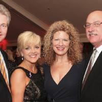 Photo - Scott Senner, Deborah McAuliffe-Senner, Sharon Stewart, James Pickel. Photo by David Faytinger