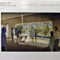 Photo - Artist rendering of a second story overlook at the Memorial Museum at the Oklahoma City National Memorial & Museum.   CHRIS LANDSBERGER - CHRIS LANDSBERGER, ARCHIVES