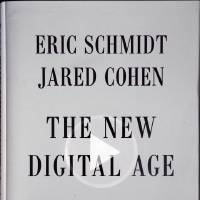 """Photo - The New Digital Age book cover is photographed in San Francisco, Friday, April 19, 2013. Google Executive Chairman Eric Schmidt, who spent a decade as the company's CEO, shares his ruminations and visions of a radically different future in """"The New Digital Age,"""" a book that goes on sale Tuesday. (AP Photo)"""