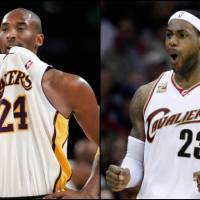 Photo - Not surprisingly, two of the players other players and coaches say have the highest basketball IQ in the league are Kobe Bryant (left) and LeBron James. AP Photos