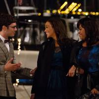Photo - This film image released by Fox Searchlight shows Adam Brody, from left, Paula Patton, and Jill Scott in a scene from