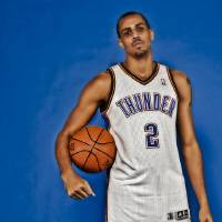 Photo - NBA BASKETBALL: Thabo Sefolosha during the Oklahoma City Thunder media day at the Chesapeake Energy Arena in Oklahoma City, Okla. on Tuesday, Dec. 13, 2011. Photo by Chris Landsberger, The Oklahoman